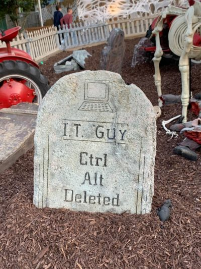 Ctrl Alt Deleted