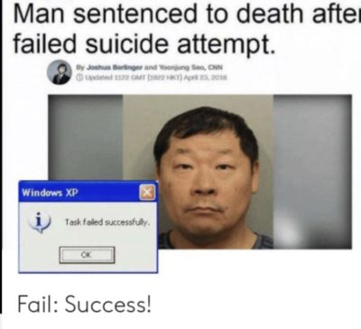 Fail : Success!