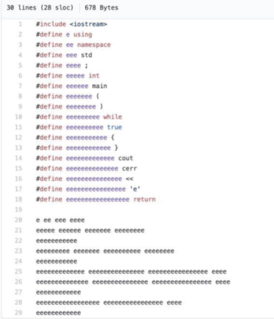 My friends shit code