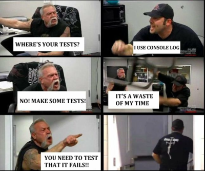 where's your tests?