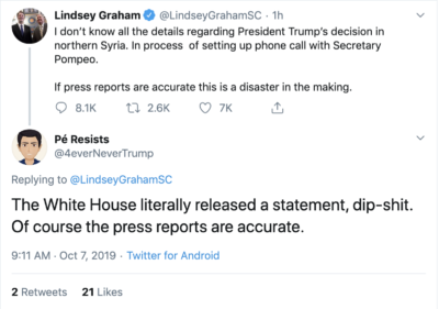 Lindsey in denial