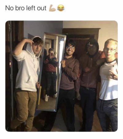 No bro left out 💪🏼😂