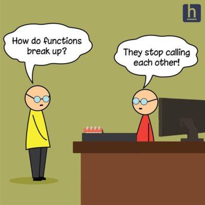 How do functions break up?