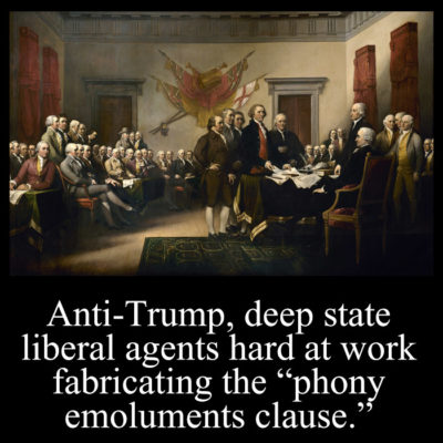 Anti-Trump deep state liberal agents hard at work