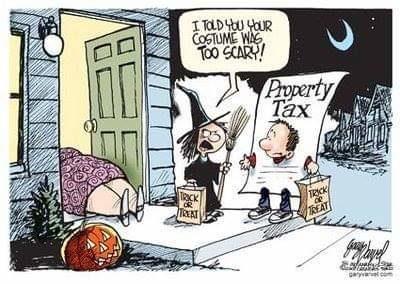 Taxes bad