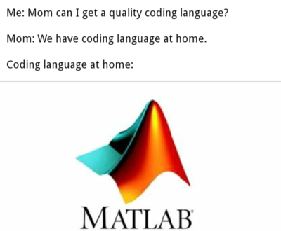 Matlab sucks