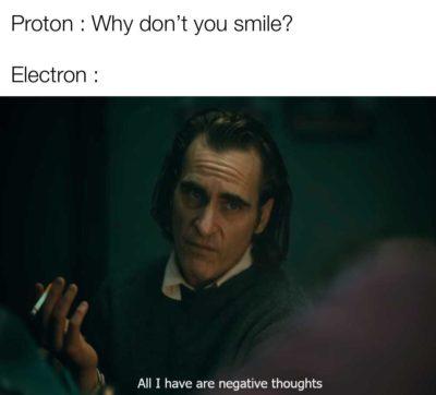 Depressed electron