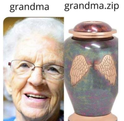 RIP grandma