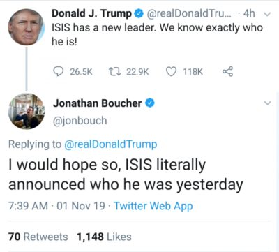 Oh Donald!