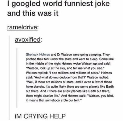 "The caption was ""I WHEEZED""."