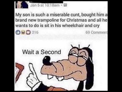 Wait a second