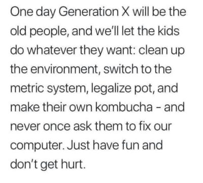 "More from the ""Really Gen X Humor"" files"