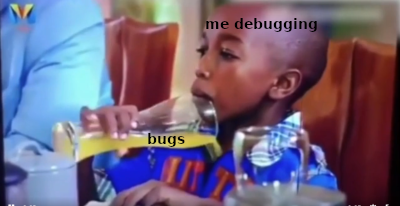 Debugging at its finest