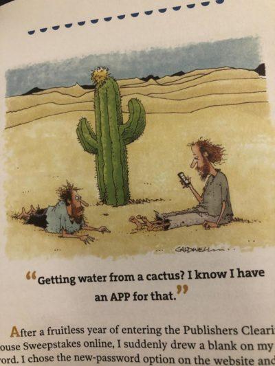 Technology bad, found in a joke book