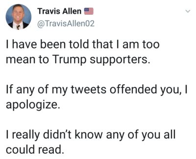 They prefer small words. Anything bigger hurts their brain.