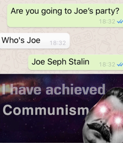 Achieved communism