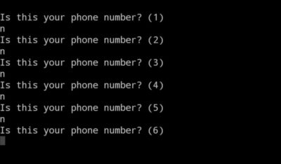 Best way to enter a phone number