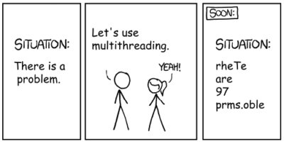 Multithreading: fixing a problem
