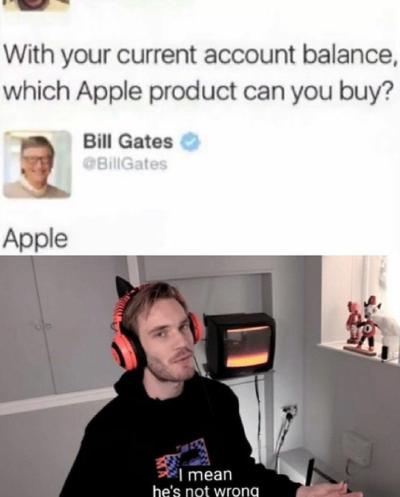 HE'S NOT WRONG