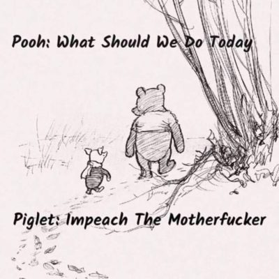 Piglet gets it.