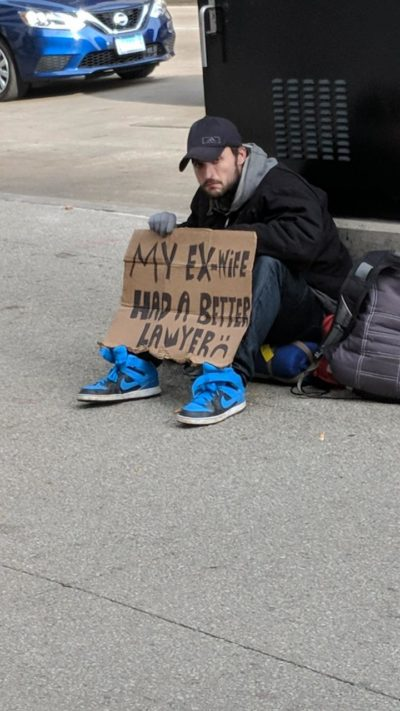 Homeless in Chicago
