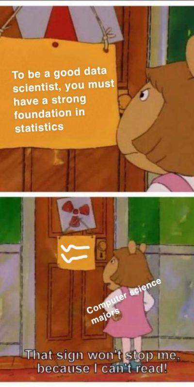 import statistics