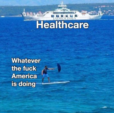 """We have a great healthcare system"""