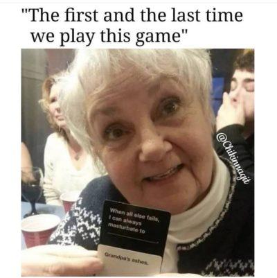 Oh grandma…