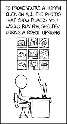 Machine Learning Captcha https://xkcd.com/2228/