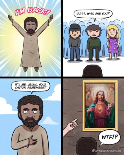 Jesus is back