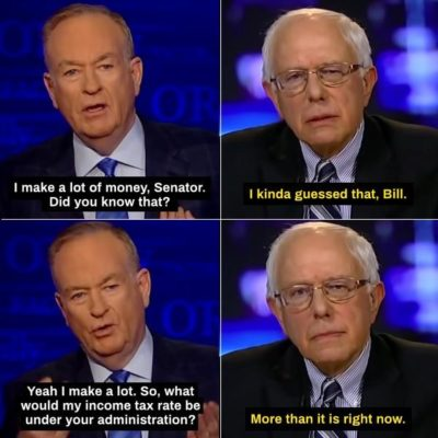 Bernie Sanders on The O'Reilly Factor in 2014