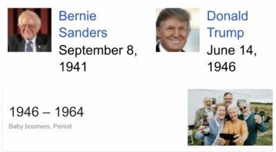 """In a Bernie/Trump debate, Bernie can say """"OK Boomer"""""""