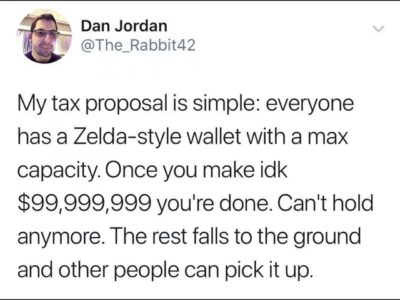 A simple tax proposal
