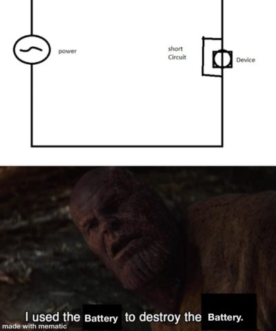 Perfectly balanced, as all circuits should be.