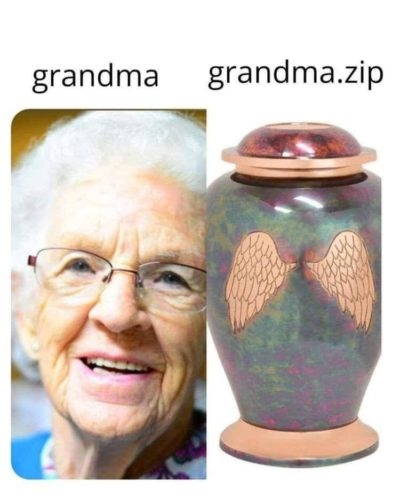 Compressed grandma