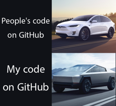 Code before and after you hit RUN.