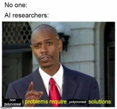 Modern problems…