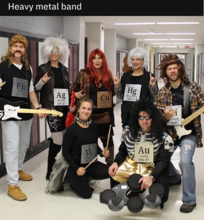 It's a heavy metal band!