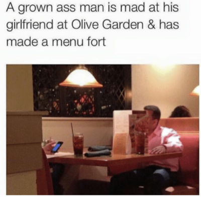 This grown ass man