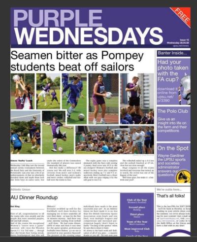 Seamen bitter as Pompey students beat off sailors