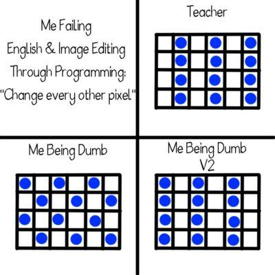 English Fail in Programming