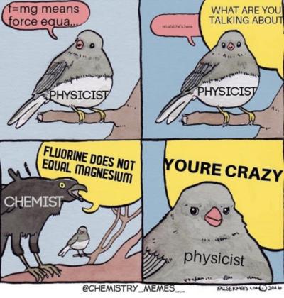 i'm in chemistry