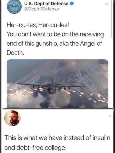 Sad chuckle