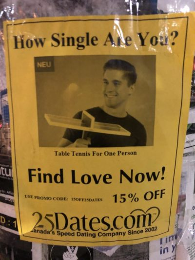 How single are you