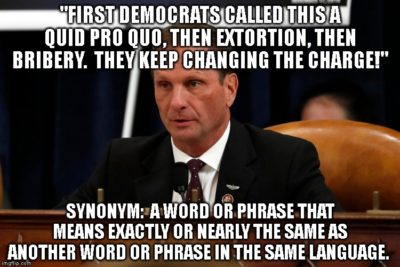 No one show Chris Stewart a Thesaurus. He would lose his shit.