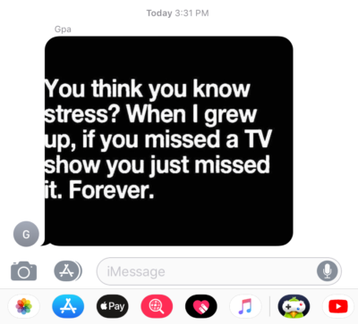 Just got this from my grandpa