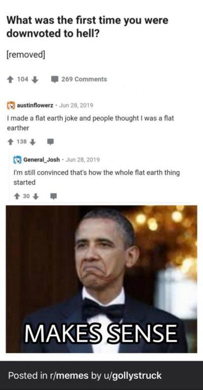 Haha Obama funny