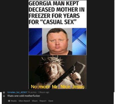 Pun about a cool man