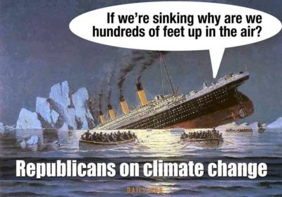 GOP on climate change