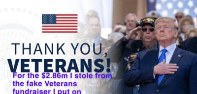 I Fixed Trump's Veterans Day Picture